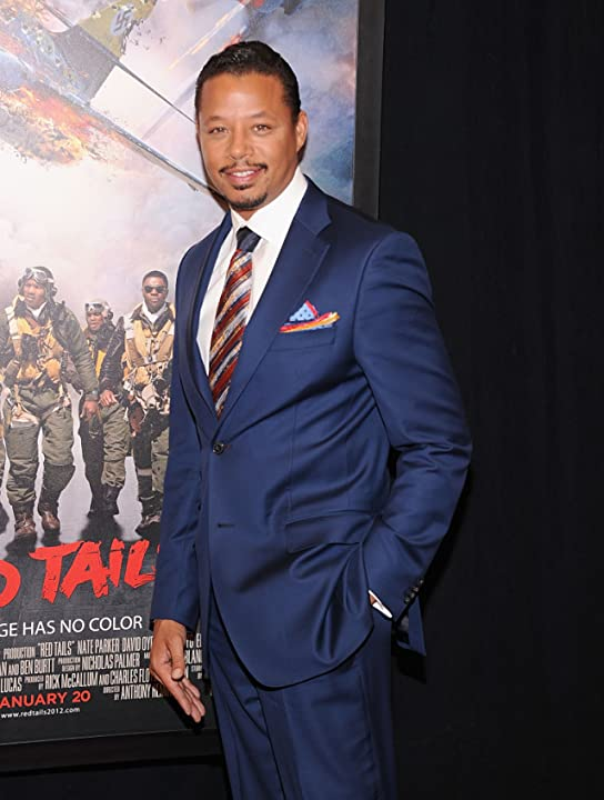 Terrence Howard at Red Tails (2012)