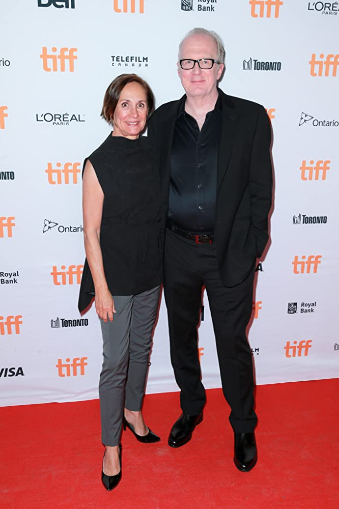 Tracy Letts and Laurie Metcalf