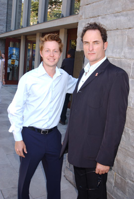 Kim Coates and Peter Oldring at an event for Hollywood North (2003)