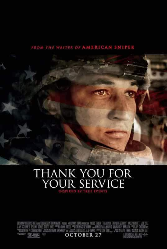 Thank You for Your Service 2017 English 720p WEB-DL Download
