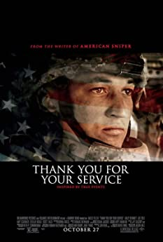 'Thank You for Your Service' follows a group of U.S. soldiers returning from Iraq who struggle to integrate back into family and civilian life, while living with the memory of a war that threatens to destroy them long after they've left the battlefield