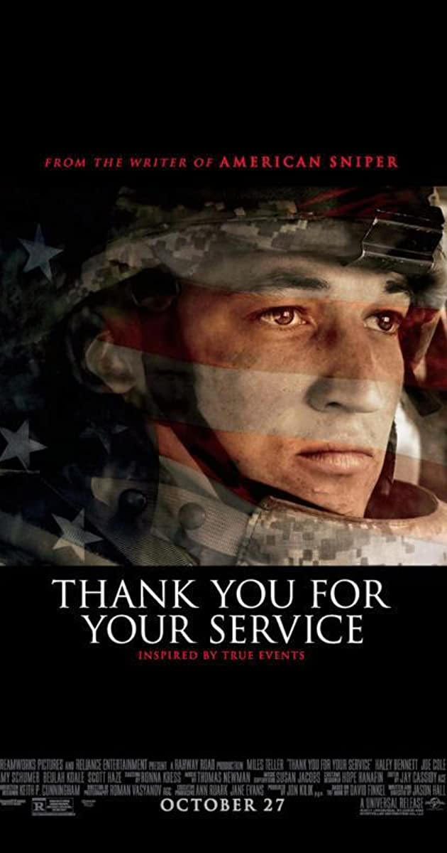 Ačiū už Jūsų tarnybą / Thank You for Your Service (2017) online