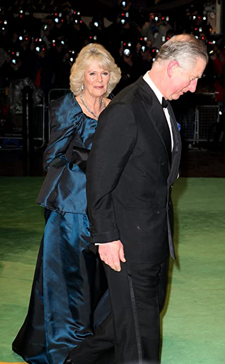 Prince Charles and Camilla Parker-Bowles at Alice in Wonderland (2010)