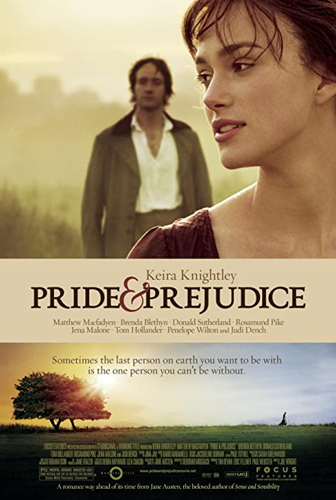 Keira Knightley and Matthew Macfadyen in Pride & Prejudice (2005)