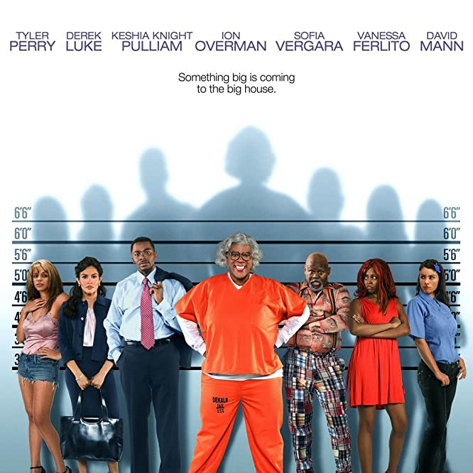 Sofía Vergara, Tamela J. Mann, Keshia Knight Pulliam, Derek Luke, Vanessa Ferlito, Tyler Perry, and David Mann in Madea Goes to Jail (2009)