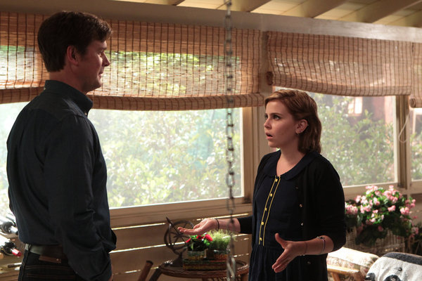 Peter Krause and Mae Whitman in Parenthood (2010)