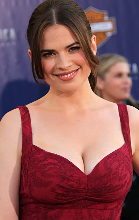 Hayley Atwell at Captain America: The First Avenger (2011)