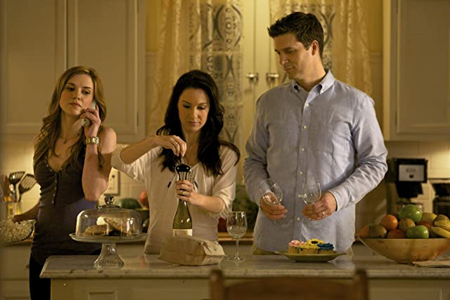 Jason MacDonald, Sara Canning, and Erin Beute in The Vampire Diaries (2009)