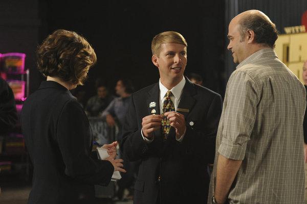 Scott Adsit, Kristen Schaal, and Jack McBrayer in 30 Rock (2006)