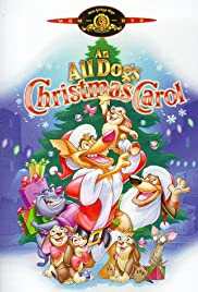 An All Dogs Christmas Carol Poster