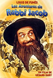 The Mad Adventures of 'Rabbi' Jacob Poster