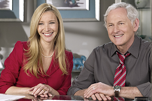 Victor Garber and Lisa Kudrow in Web Therapy (2011)