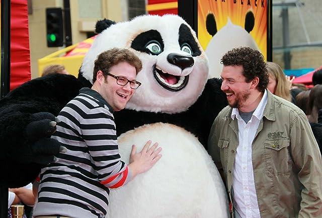 Seth Rogen and Danny McBride at Kung Fu Panda 2 (2011)