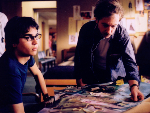Terry Zwigoff and Max Minghella in Art School Confidential (2006)
