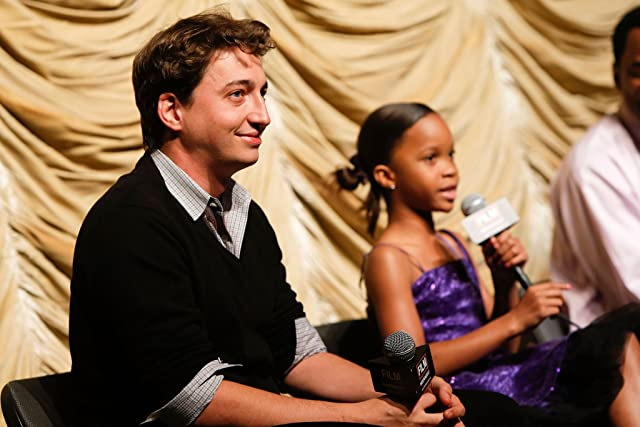 Benh Zeitlin and Quvenzhané Wallis at Beasts of the Southern Wild (2012)