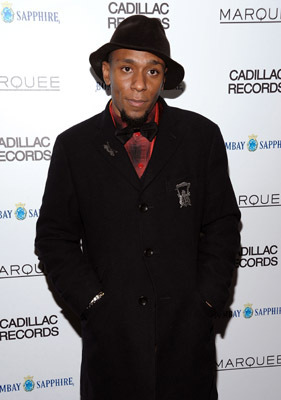 Yasiin Bey at an event for Cadillac Records (2008)