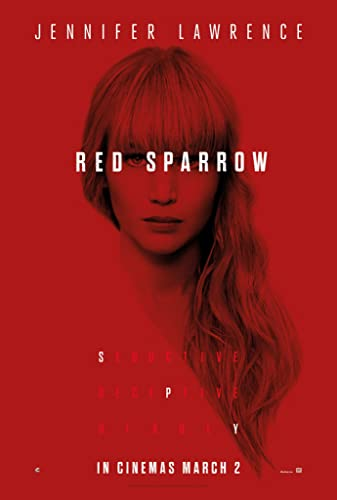 Poster Film Red Sparrow