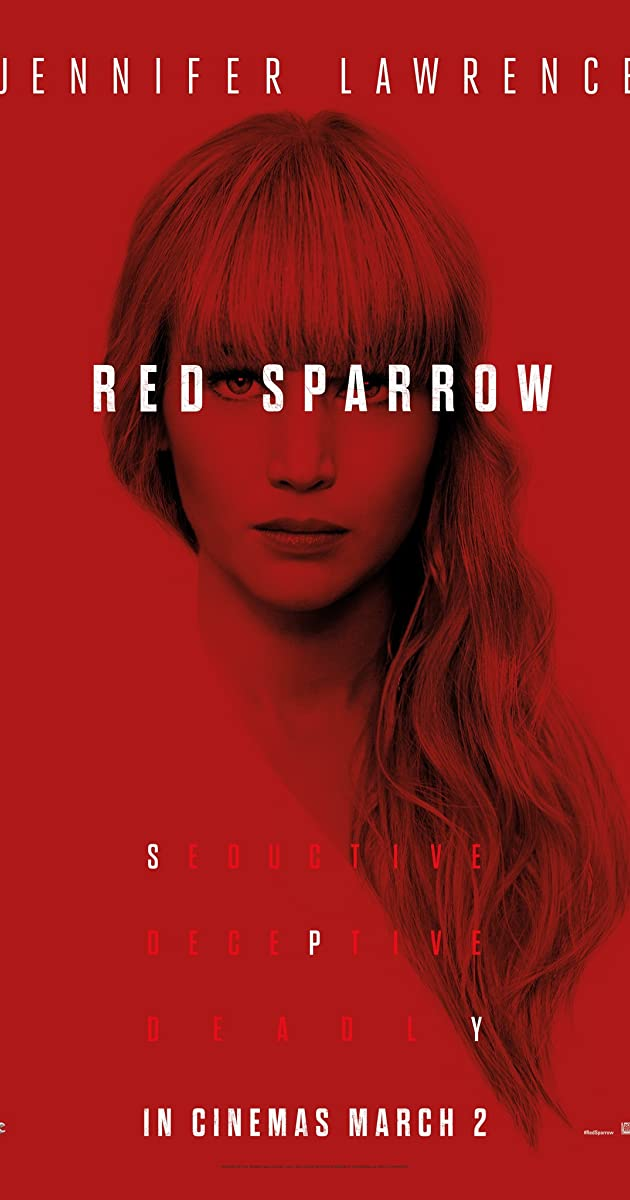 Raudonasis Žvirblis / Red Sparrow (2018)