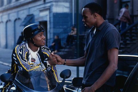Cam'ron and Wood Harris