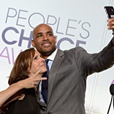 Boris Kodjoe and Molly Shannon