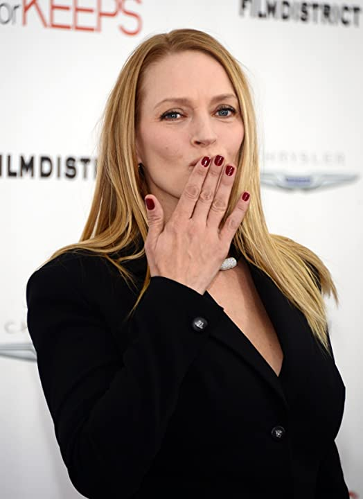 Uma Thurman at an event for Playing for Keeps (2012)