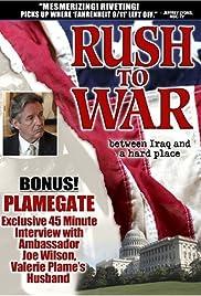 Rush to War Poster