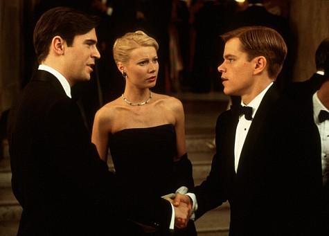 Matt Damon, Gwyneth Paltrow, and Jack Davenport in The Talented Mr. Ripley (1999)
