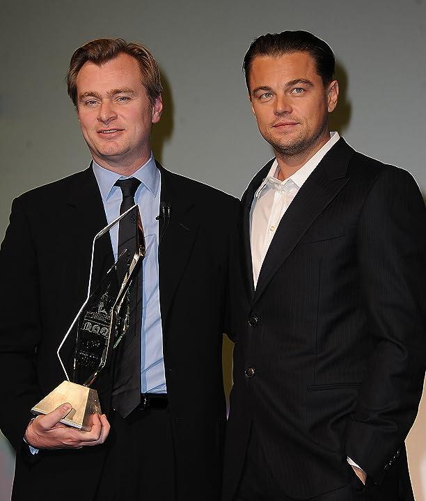 Leonardo DiCaprio and Christopher Nolan