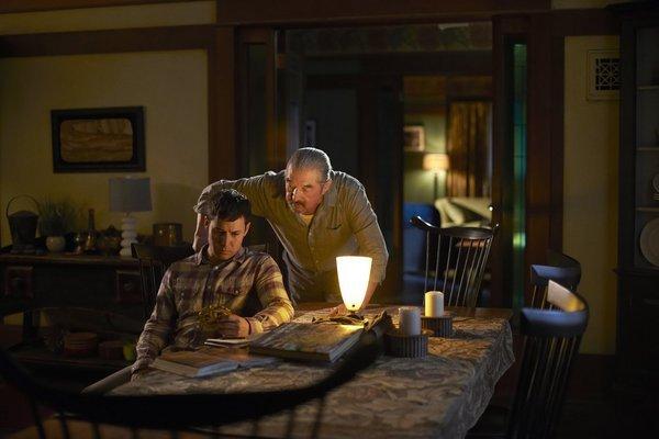 Graham Greene and Justin Rain in Defiance (2013)
