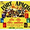 Henry Fonda, Shirley Temple, John Wayne, Pedro Armendáriz, Ward Bond, and George O'Brien in Fort Apache (1948)