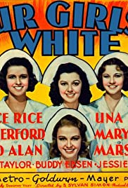 Four Girls in White Poster