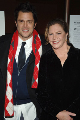 Kathleen Turner and Johnny Knoxville at The Ringer (2005)
