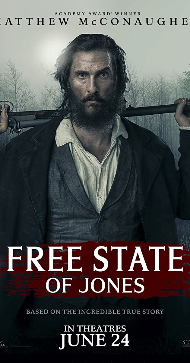 Karys iš Džounso / Free State of Jones (2016) Online