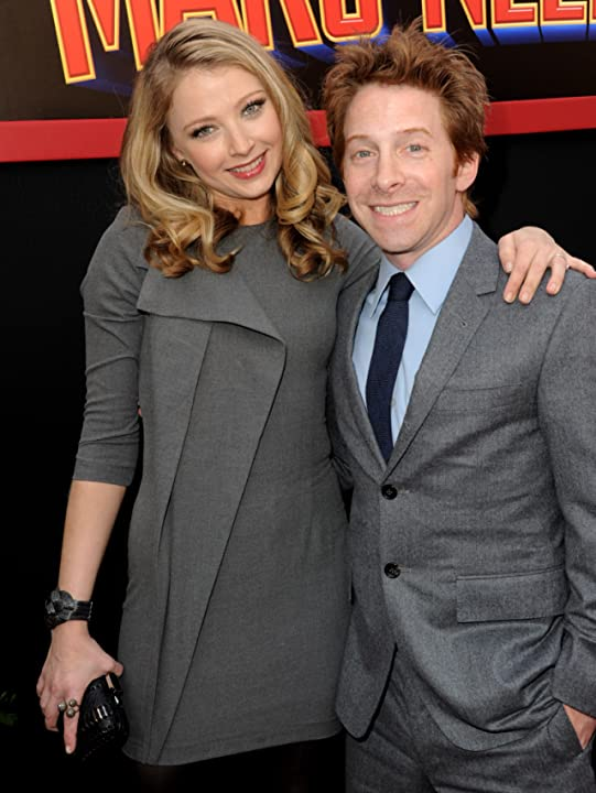 Seth Green and Elisabeth Harnois at an event for Mars Needs Moms (2011)