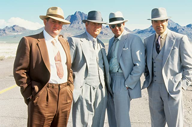 Michael Madsen, Nick Nolte, Chazz Palminteri, and Chris Penn in Mulholland Falls (1996)