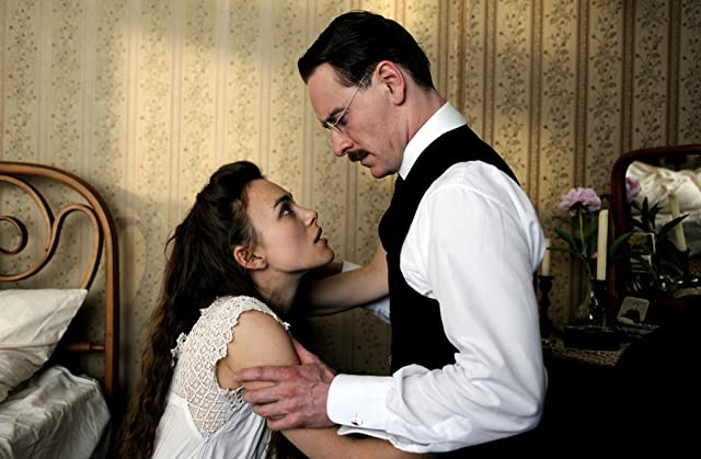 Keira Knightley and Michael Fassbender in A Dangerous Method (2011)