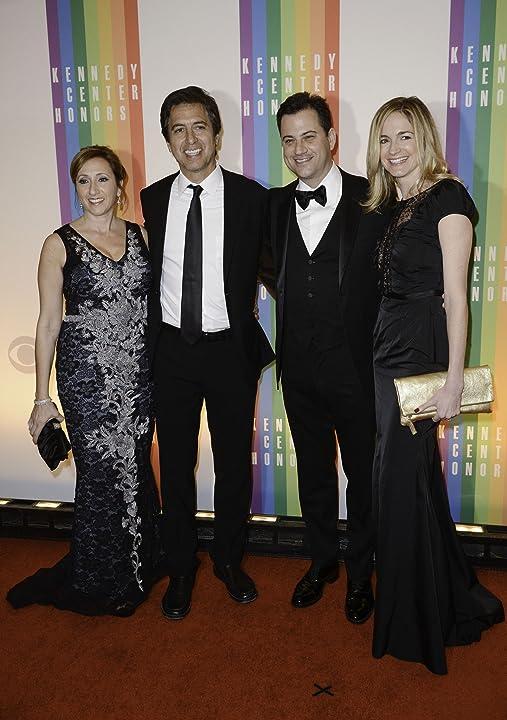 Ray Romano, Jimmy Kimmel, Molly McNearney, and Anna Romano