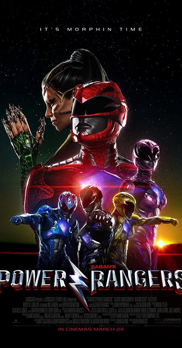 Power Rangers (2017) 360p 720p 1080p