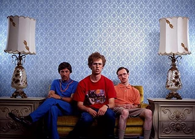 Jon Gries, Aaron Ruell, and Jon Heder in Napoleon Dynamite (2004)