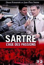 Sartre, l'âge des passions Poster