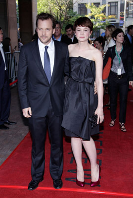 Peter Sarsgaard and Carey Mulligan at an event for An Education (2009)
