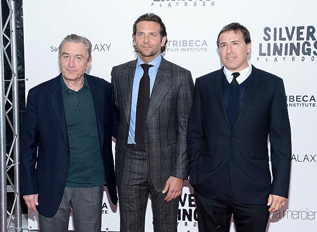Robert De Niro, Bradley Cooper, and David O. Russell at Silver Linings Playbook (2012)