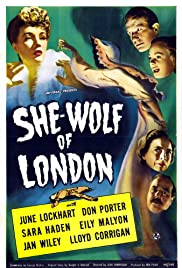 She-Wolf of London (1946) Poster - Movie Forum, Cast, Reviews