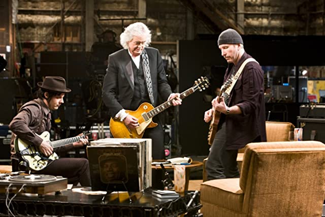 Jimmy Page, The Edge, and Jack White in It Might Get Loud (2008)