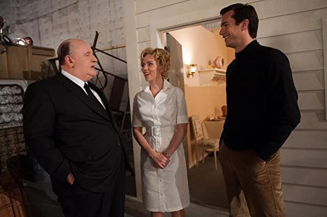 Anthony Hopkins, James D'Arcy, and Scarlett Johansson in Hitchcock (2012)
