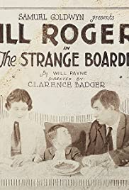 The Strange Boarder Poster