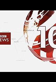 BBC News at Ten O'Clock Poster