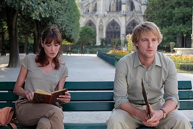 Owen Wilson and Carla Bruni in Midnight in Paris (2011)