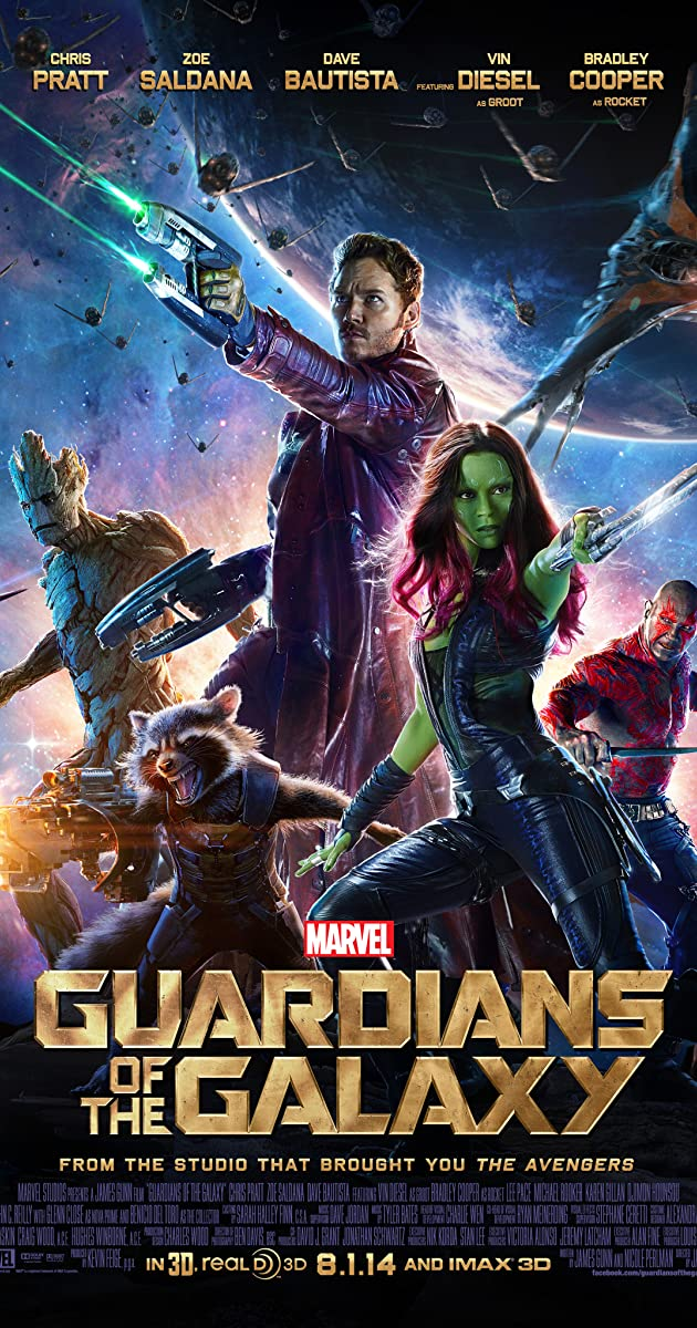 Image result for guardians of the galaxy vol. 1 poster