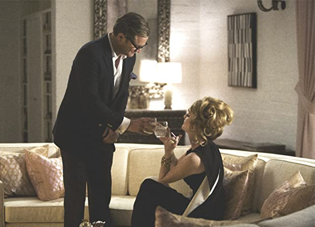Colin Firth and Julianne Moore in A Single Man (2009)